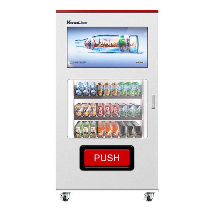 Big screen vending machine for Advertising