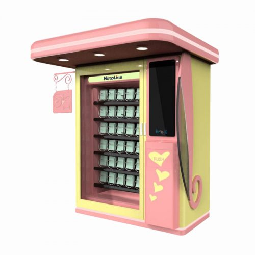 Cosmetic Vending Machine with Single Cabinet