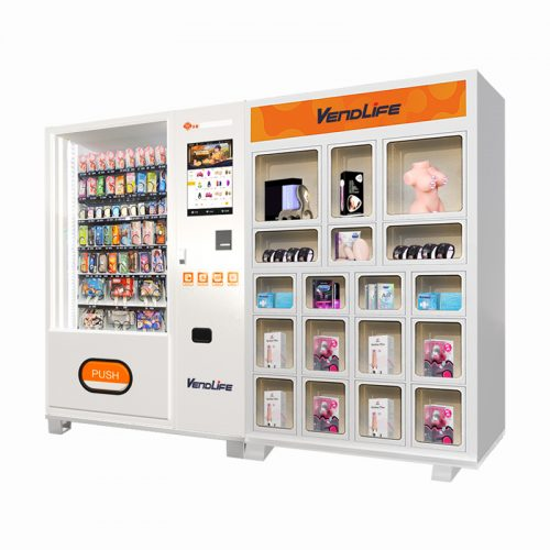 Double Cabinet Adult Product Vending Machine