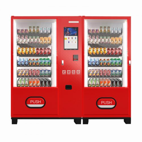 Double Cabinets Drink & Snack Vending Machines