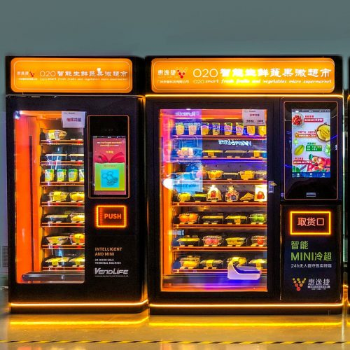 Vendlife food vending machine