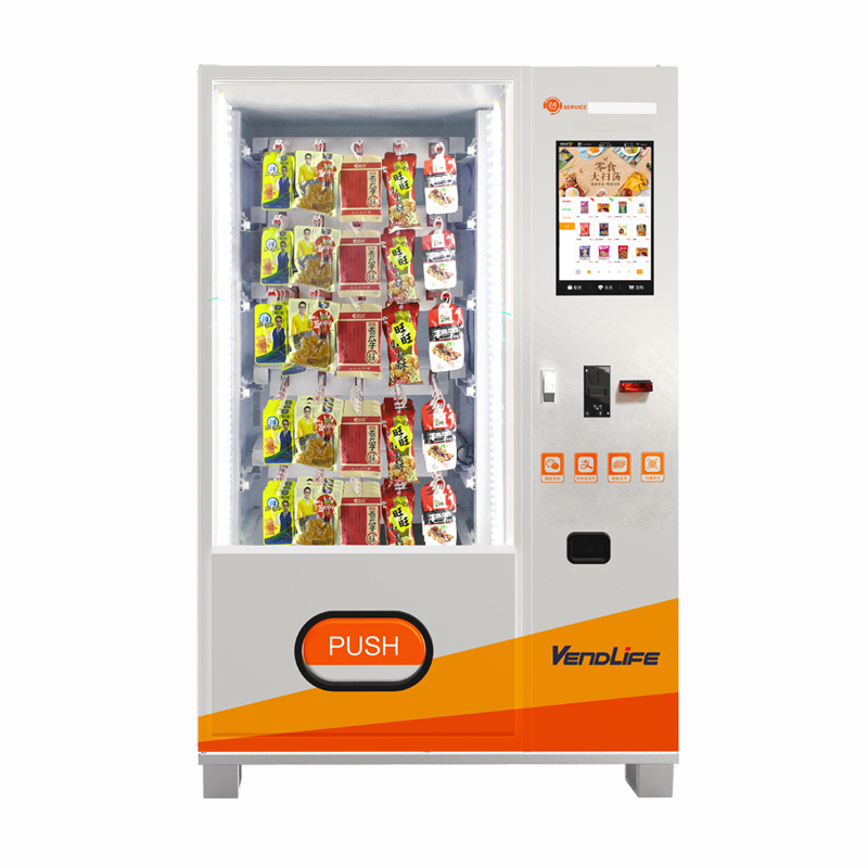 With Pothook Beverage & Snack Vending Machines