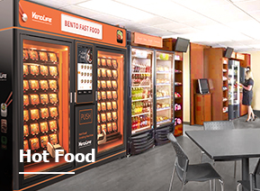 Food Vending Machine solution