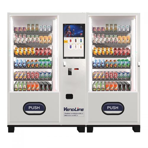 vendlife vending machine for drink with big capacity