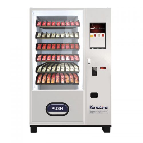 Vendlife Cigarette vending machine with Spring spiral