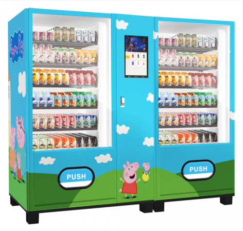 Customized drink vending machine