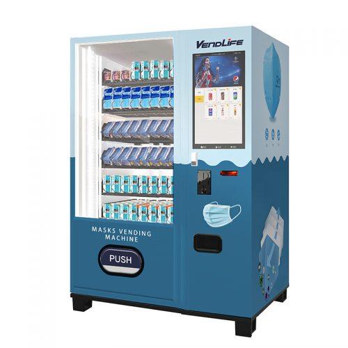 Vendlife masks vending machine with big screen