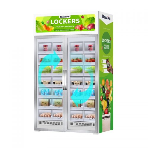 Vendlife locker vending machine with cooling